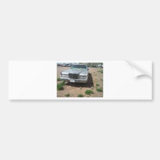 Lincoln Limousine Car Bumper Sticker