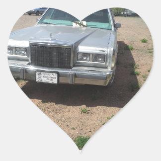 Lincoln Limousine Heart Sticker