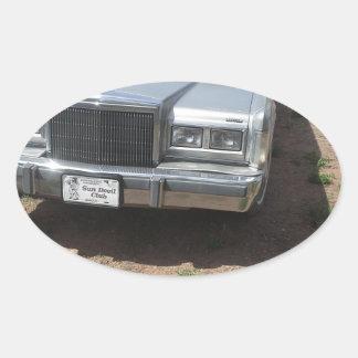 Lincoln Limousine Oval Sticker