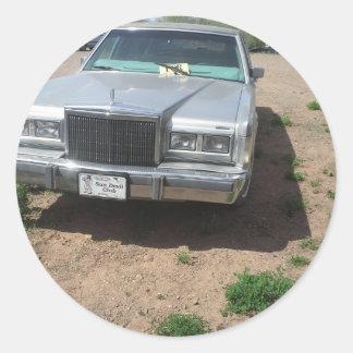Lincoln Limousine Classic Round Sticker