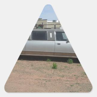 Lincoln Limousine Triangle Sticker