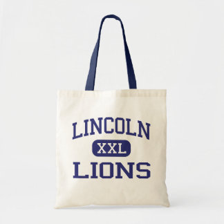 Lincoln - Lions - High - Jersey City New Jersey Canvas Bag