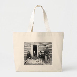 Lincoln Logs, 1891 Jumbo Tote Bag