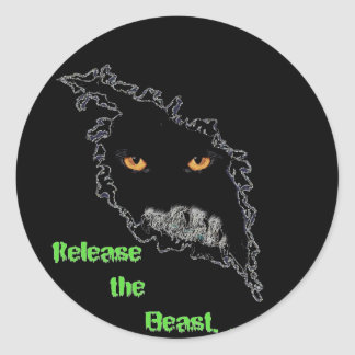 Lincoln Lynx Beast Sticker