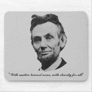 Lincoln - Malice Charity Mouse Pads