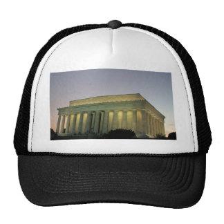 Lincoln Memeorial night scene Hat