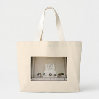 Lincoln Memorial Tote Bags
