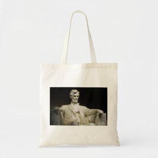 Lincoln Memorial Canvas Bags