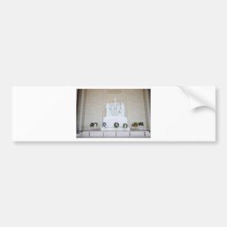 Lincoln Memorial. Bumper Sticker