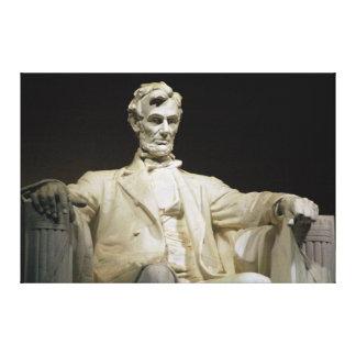 Lincoln Memorial Gallery Wrap Canvas