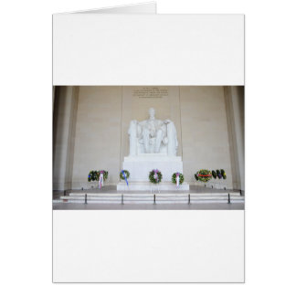 Lincoln Memorial. Greeting Card