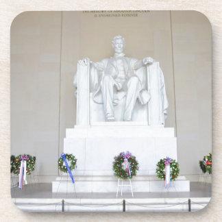 Lincoln Memorial Beverage Coasters