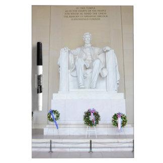 Lincoln Memorial Dry-Erase Whiteboard