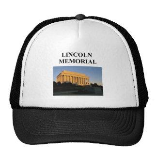 lincoln memorial hat