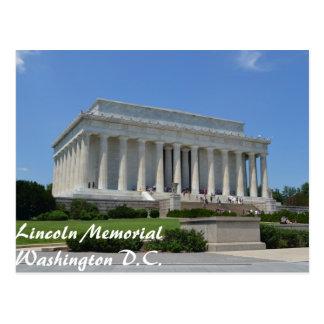 Lincoln Memorial in Washington D.C. Postcard