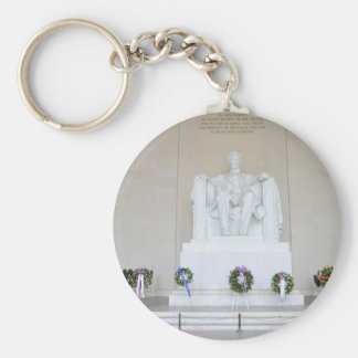 Lincoln Memorial. Keychain