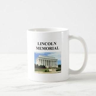lincoln memorial mugs