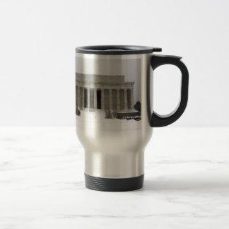Lincoln Memorial Coffee Mugs