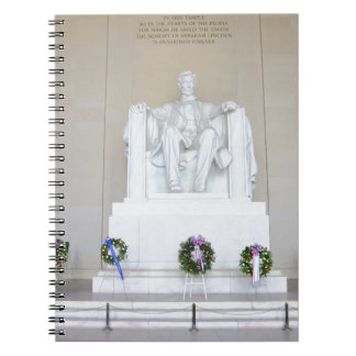 Lincoln Memorial. Notebook