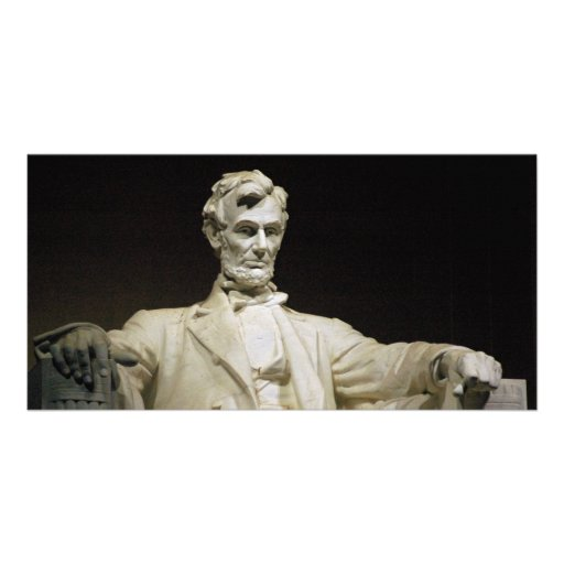 Lincoln Memorial Personalized Photo Card
