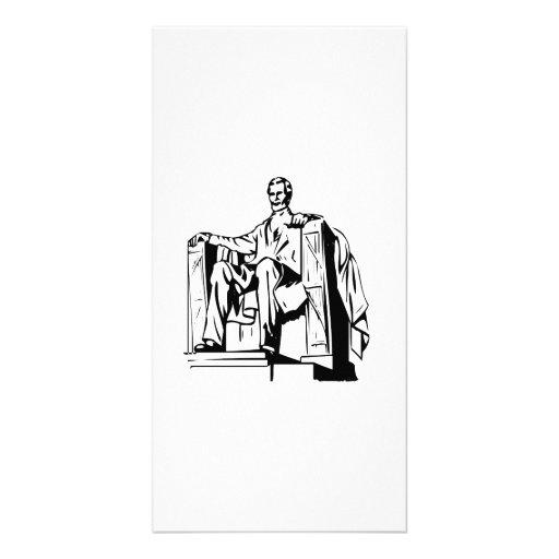 Lincoln Memorial Photo Greeting Card