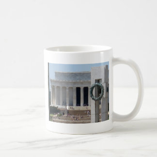 Lincoln Memorial photo view from WWII memeorial Coffee Mugs