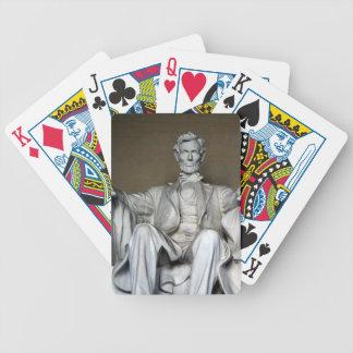 LINCOLN MEMORIAL POKER CARDS