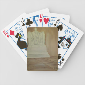 Lincoln Memorial Playing Cards