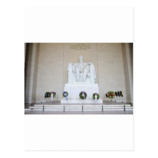 Lincoln Memorial. Postcard