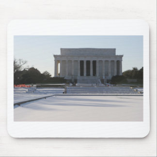 lincoln memorial snow mouse pads