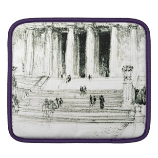 Lincoln Memorial Steps 1922 Sleeve For iPads