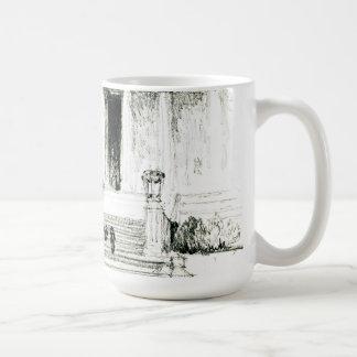 Lincoln Memorial Steps 1922 Coffee Mug