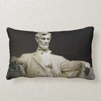 Lincoln Memorial Throw Pillows