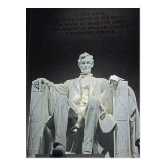 Lincoln Memorial Washington DC 001 Postcard