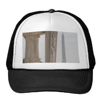 lincoln memorial washington monument trucker hats