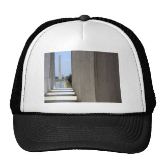 lincoln memorial washington monument mesh hats