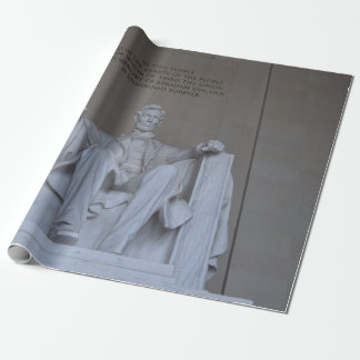 Lincoln Memorial Wrapping Paper