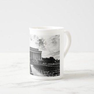 Lincoln Monument Tea Cup
