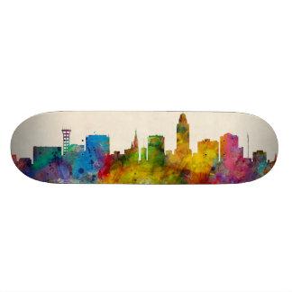Lincoln Nebraska Skyline Skate Board Decks