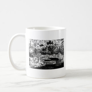lincoln park bridge coffee mug