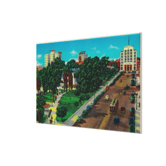 Lincoln Park showing Library City Hall Gallery Wrap Canvas