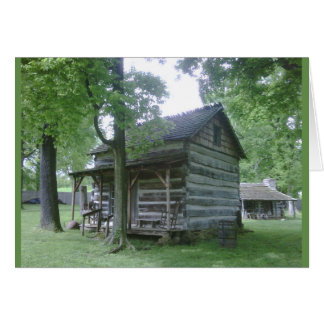 Lincoln Pioneer Village, Rockport, Indiana Card