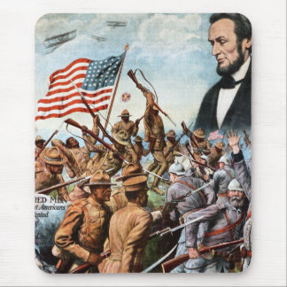 Lincoln Poster Mouse Mat