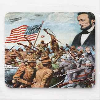 Lincoln Poster Mouse Pads
