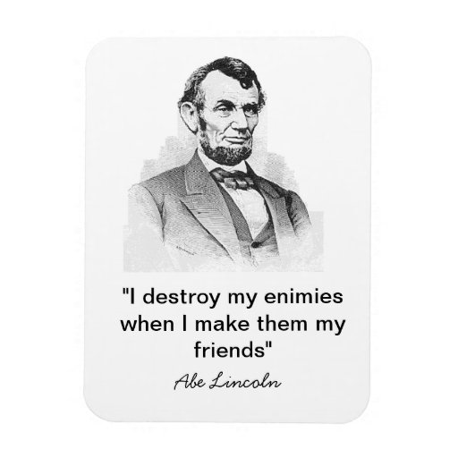 Lincoln Quote Magnet