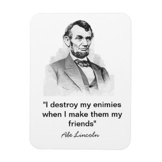 Lincoln Quote Rectangular Photo Magnet