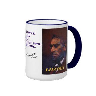 lincoln quote ringer mug