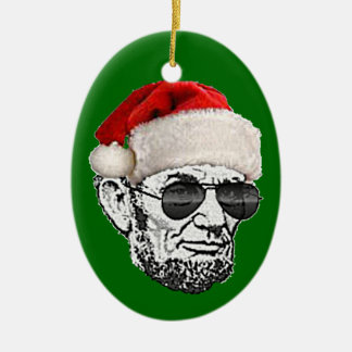 Lincoln Secret Santa Christmas Ornament (NEW 2012)