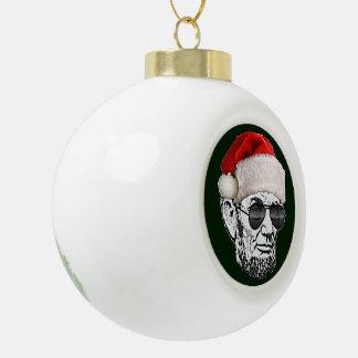 Lincoln Secret Santa Christmas Tree Ornament