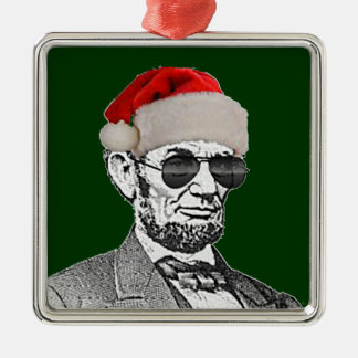 Lincoln Secret Santa Christmas Tree Ornament NEW